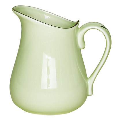 Pitcher pastell green