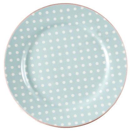 Plate Spot pale blue