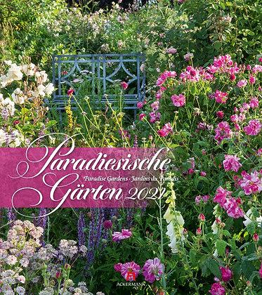 Paradiesische Gärten Kalender 2021
