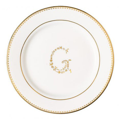 Plate G gold