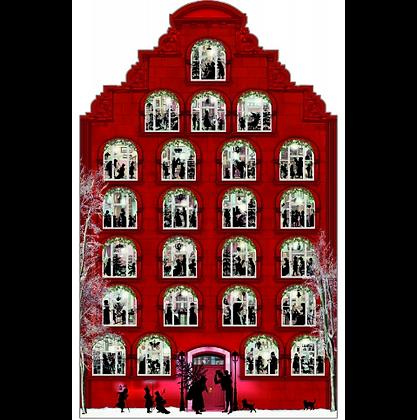 Adventkalender, Nostalgisches Weihnachtshaus