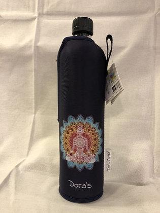 Dora's Glasflasche 0,5l Yoga