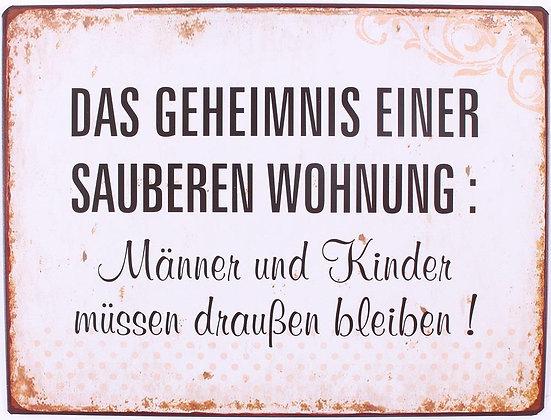 """""""Das Geheimnis einer sauberen Wohnung, ..."""""""