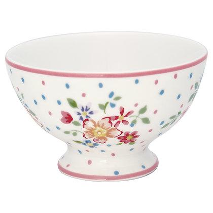 Snack Bowl Belle white