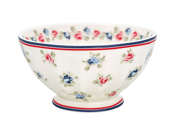 French Bowl XL Hailey white
