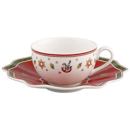 Kaffee-/Teetasse mit Untertasse