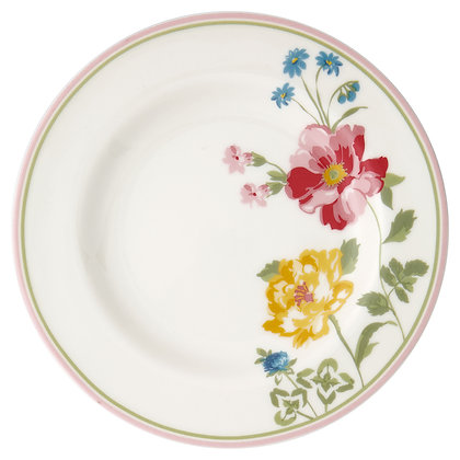 Small Plate Thilde white
