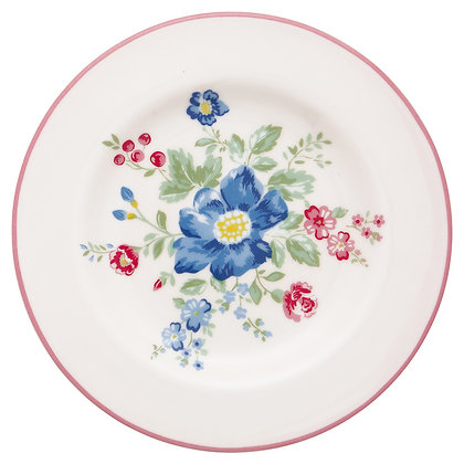 Small Plate Roberta pale pink