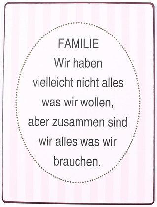 """""""Familie"""""""