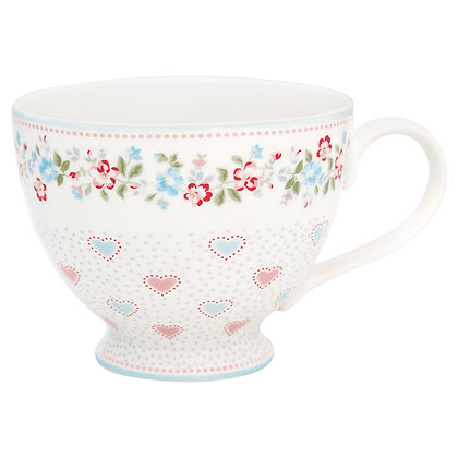 Tea Cup Sonia white