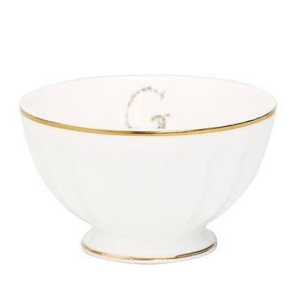 French Bowl medium G gold