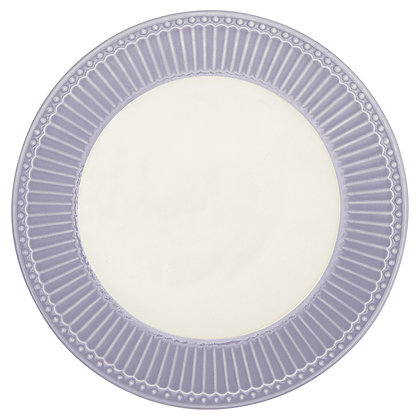 Plate Alice lavender