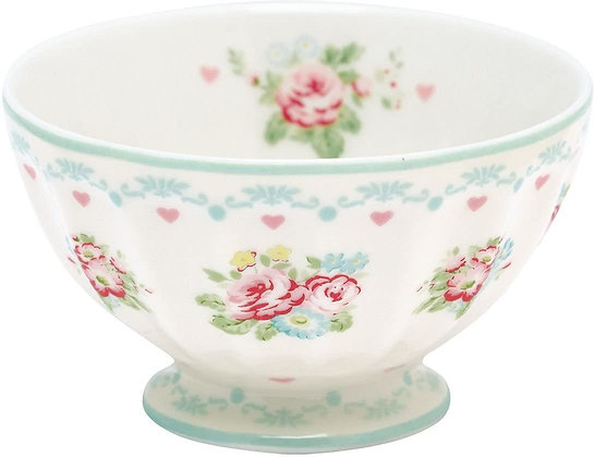 French Bowl medium Abelone white