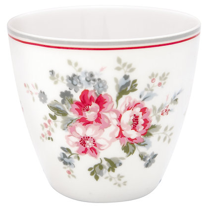 Latte Cup Elouise white