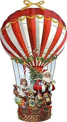 Adventkalender, Weihnachtsballon