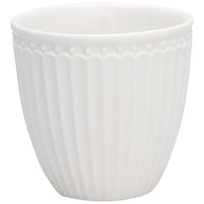 Mini Latte Cup Alice white
