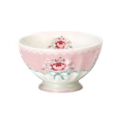 French Bowl medium Betty pale pink