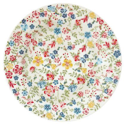 Plate Sophia white