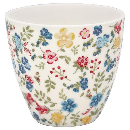 Latte Cup Sophia white