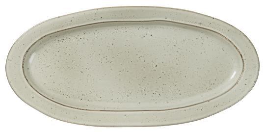 Tablett oval Dunes sand