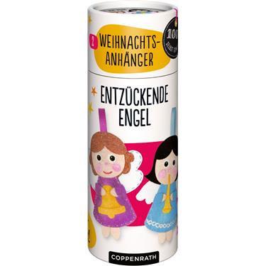 Nähset Weihnachtsanhänger - 2 Engel