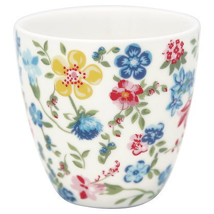 Mini Latte Cup Sophia white