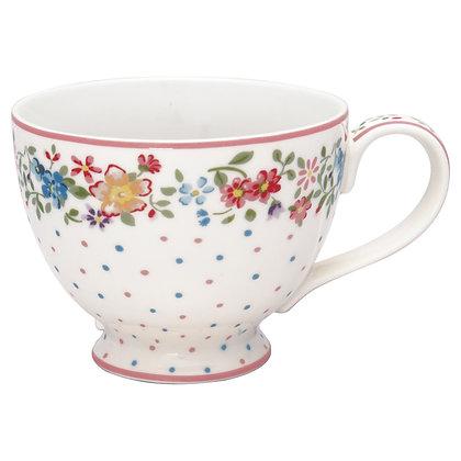 Tea Cup Belle white