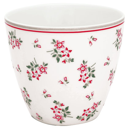 Latte Cup Avery white