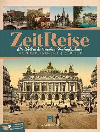 """Wochenplaner Kalender 2021 """"Zeitreise"""""""