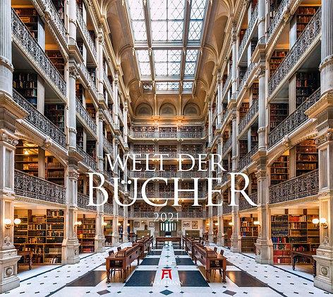 Welt der Bücher - Bibliotheken Kalender 2021