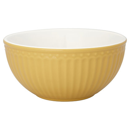 Cereal Bowl Alice honey mustard