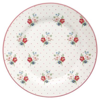 Plate Eja white