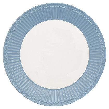 Plate Alice sky blue