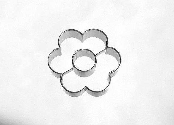 Keksausstecher Blume mit Loch