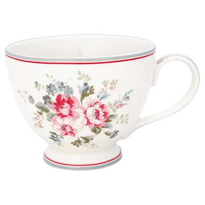 Tea Cup Elouise white