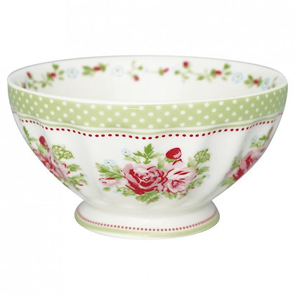 French Bowl XL Mary white