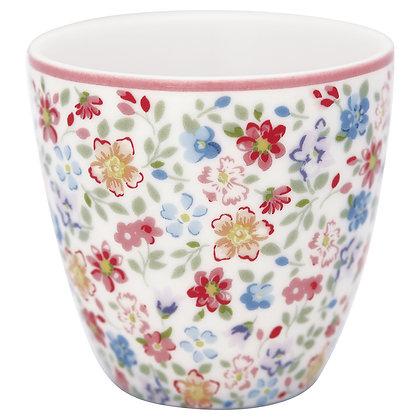 Mini Latte Cup Clementine white