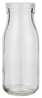 Glasflasche mit Deckel 250 ml