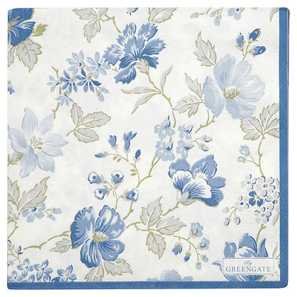 Papier Servietten Donna blue