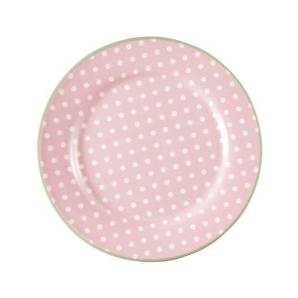 Plate Spot pale pink