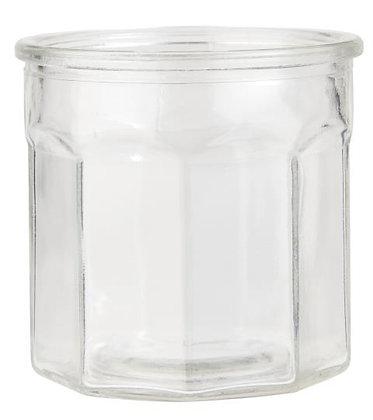 Marmeladenglas ohne Deckel