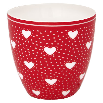 Mini Latte Cup Penny red