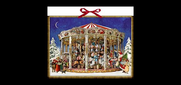 Adventkalender, Weihnachtskarusell