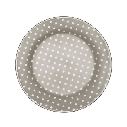 Plate Spot grey