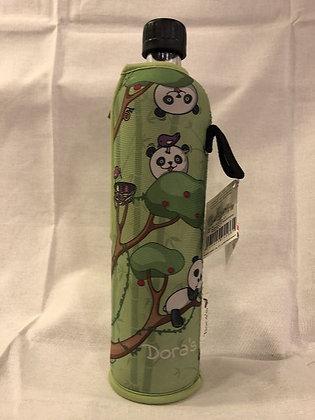 Dora's Glasflasche 0,5l Panda