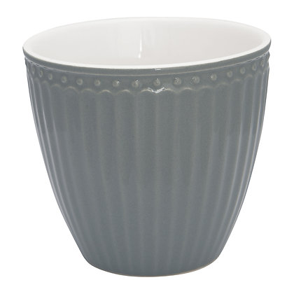 Latte Cup Alice stone grey