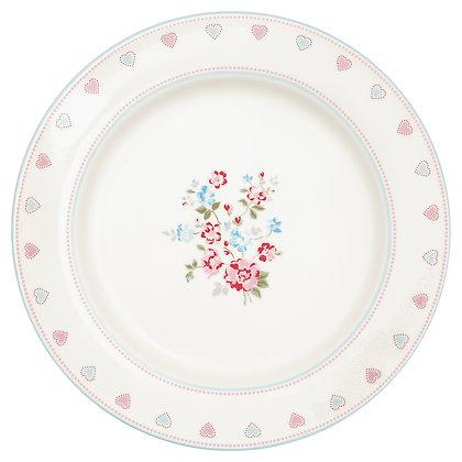 Dinner Plate Sonia white