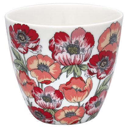 Latte Cup Aria white