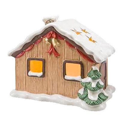 Lichterhaus Eingeschneite Winterhütte
