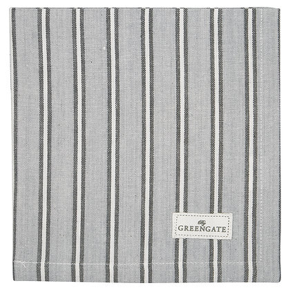 Stoff Serviette Rile grey